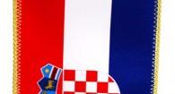 Hrvatska zastava 10x20, bez stalka